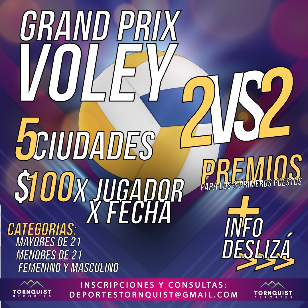Grand Prix: Este domingo se jugará en Saldungaray